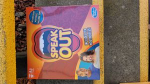 Speak Out Game Hasbro With 10 Mouth Pieces Kids Toys & Games Brand New for Sale in San Jose, CA