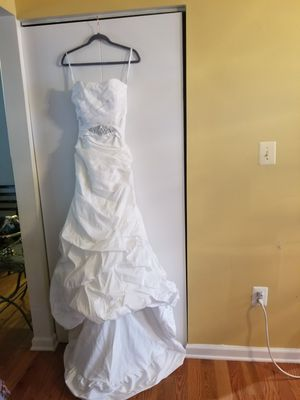 Wedding Dress White for Sale in UPR MARLBORO, MD