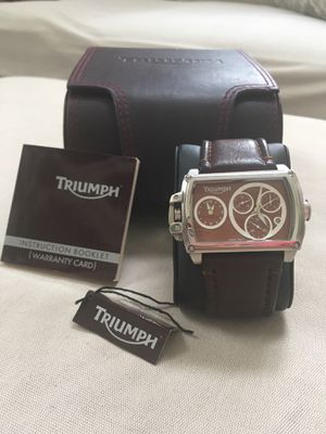 Triumph Motorcycles Men's Chronograph Dual Watch for Sale in FL, US