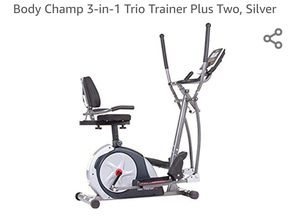 Body Champ 3-in-1, Trio trainer plus for Sale in Lawrenceville, GA