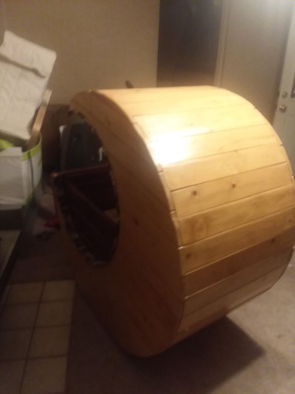 Hand crafted baby bed