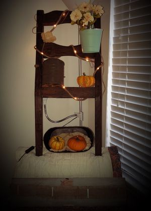 Rustic farmhouse ladder shelf for Sale in Brandon, FL