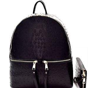 New ostrich print backpack set for Sale in St. Louis, MO