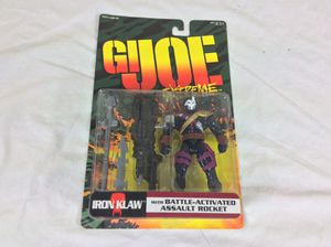 GI Joe Extreme: Iron Klaw Action Figure New In Package 1995 for Sale in Severn, MD