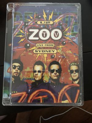 U2 zoo Live from Sydney DVD for Sale in Redlands, CA