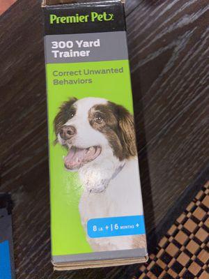 300 yard trainer dog collar for Sale in Hemet, CA