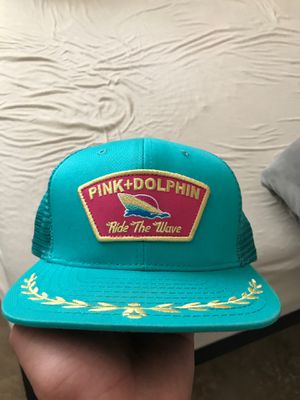 Pink dolphin hat for Sale in San Tan Valley, AZ