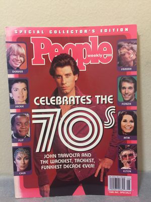 People weekly 70's collector edition magazine for Sale in San Francisco, CA