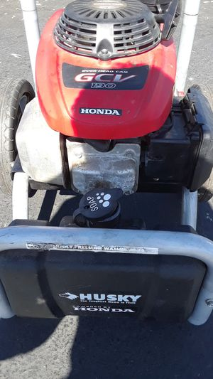 Husky 3000 psi powered by Honda gcv190 pressure washer for Sale in Oakland, CA