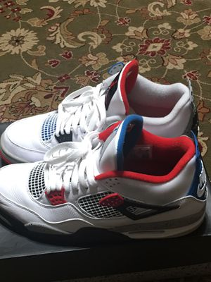 Jordan 4 what the 4 for Sale in Euless, TX