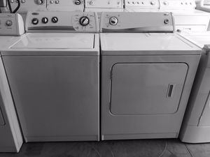 Whirlpool Washer and Amana Electric Dryer for Sale in Frisco, TX