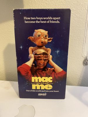 Mac and Me Vintage VHS 📼 for Sale in Albuquerque, NM