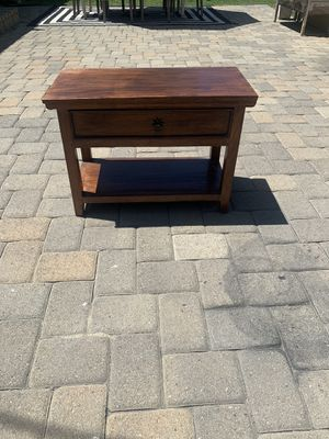 Wood nightstand or side table for Sale in Downey, CA