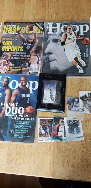Dirk Nowitzki Dallas Mavericks NBA basketball memorabilia for Sale in Gresham, OR