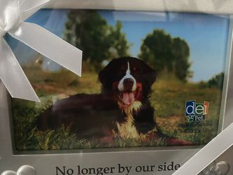 Brand New Picture Frame For Deceased Dog for Sale in Highland,  NY