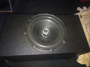 15 subwoofer audio pipe for Sale in Fort Worth, TX