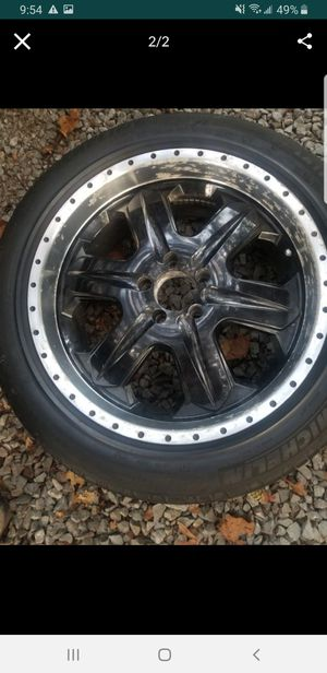 Black rims for Sale in West Mifflin, PA