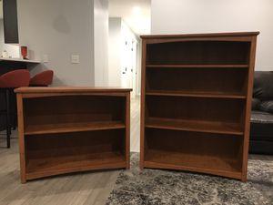 Oak book shelves (set of 2) for Sale in Bellingham, WA