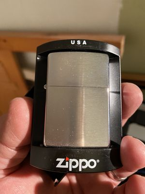 New ZIPPO BRUSHED STEEL FINISH for Sale in Lakewood, OH