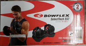 Bowflex Dumbbells X2 New for Sale in Schiller Park, IL
