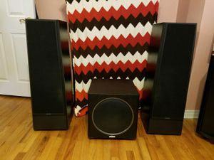 Polk Audio Sub Woofer and Speakers for Sale in Queens, NY