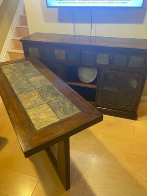 TV Media and Console For Sale for Sale in Hialeah, FL