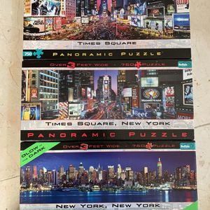 Panoramic Puzzles (Set of 3) for Sale in San Jose, CA