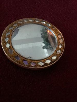 Appox2.75 Gold Purse mirror for Sale in Auburn, WA