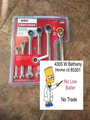 $20 No Menos ($20 No Lower) Craftsman metric set size 6 to 14 for Sale in Glendale, AZ