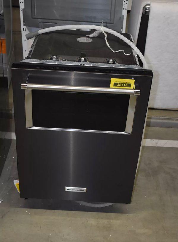 KitchenAid Dishwasher - black Stainless Steel