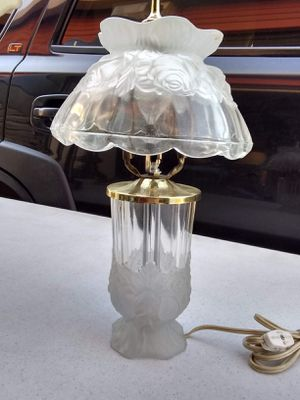 Antique glass table lamp for Sale in Houston, TX