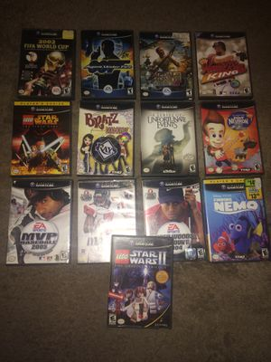 Lot of 13 Nintendo GameCube Games for Sale in San Diego, CA