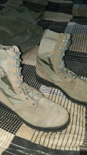 US Air Force steel toe combat boots. Size 11 for Sale in Orient, OH