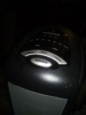 Space electric heater (rotating) for Sale in Hersey, MI