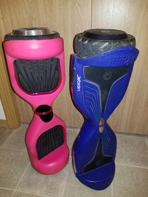 Hoverboards pink and blue Jetson Bluetooth for Sale in Everett, WA