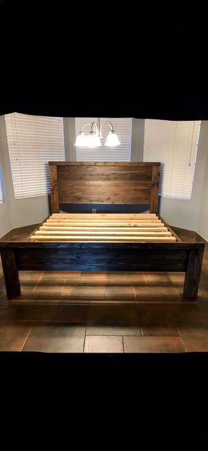 KING BED FRAME for Sale in Chandler, AZ