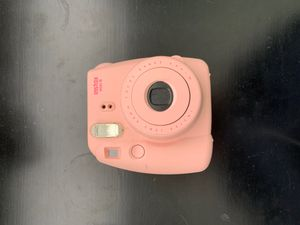 Pink polaroid camera for Sale in Centennial, CO