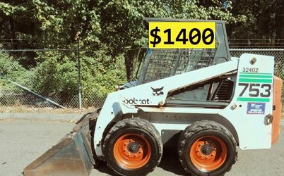 🍁🍁The best price $1400 🌟I'm selling 1997 Bobcat 753 🍁🍁 for Sale in Orlando,  FL