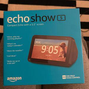 Brand New In Box Echo Show 5 for Sale in Villa Park, CA