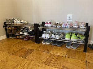 Ikea shoe rack of 2 for Sale in Alexandria, VA