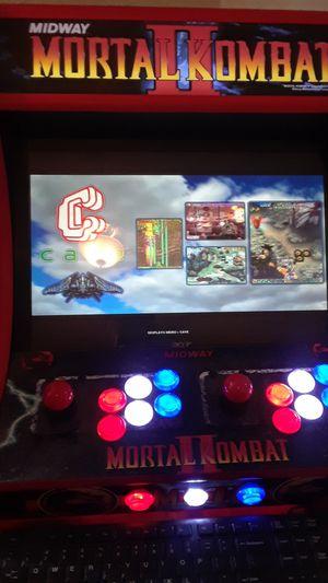Mortal kombat bartop arcade play over 16,000 games for Sale in Clovis, CA