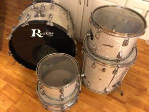 Vintage Rogers 5pc Drum Set for Sale in Huntington Beach, CA
