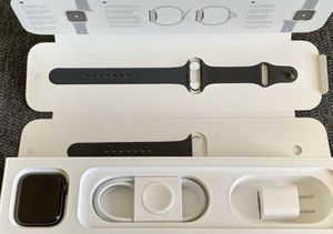Apple Watch Series 4 44mm Space Gray Aluminum with Black Sport Brand for Sale in Los Angeles, CA