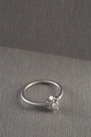 925 Sterling silver ring with crystal size 9 for Sale in Bloomfield Hills, MI
