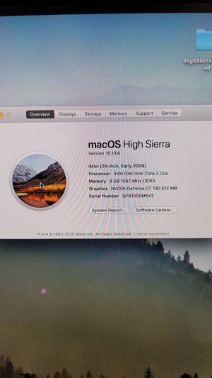 iMac (24in early 2009) *open to trade* for Sale in Weehawken, NJ
