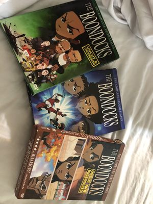 The Boondocks complete dvd set for Sale in Bradenton, FL