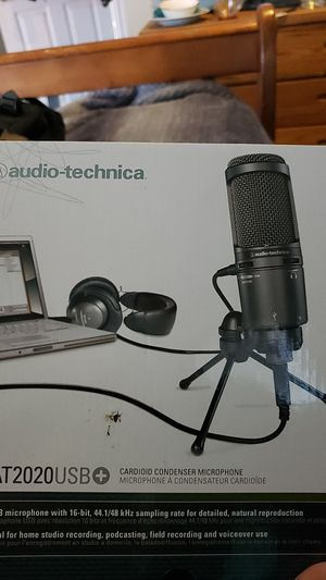audio technica AT2020 for Sale in Palmdale, CA