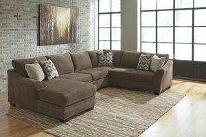 [SPECIAL] Justyna Teak LAF Sectional for Sale in Fort Worth, TX