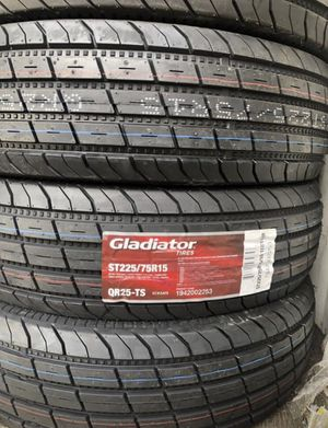 225/75r15 Trailer Tire 10ply for only $79.99 for Sale in Sacramento, CA