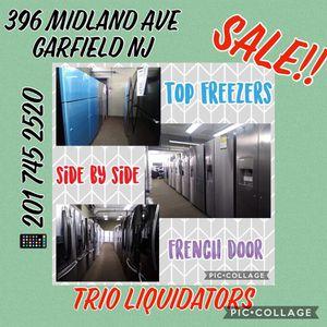 Refrigerators SALE!! for Sale in Saddle Brook, NJ